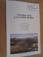 Vends Cause Décés : Le Pays Bas Normand, Revue Trimestrielle, N° 222 223 ETUDES SUR LA LANDE PATRY - Normandie
