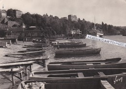 THONON LES BAINS - Dépt 74 - Le Port De Rives Et L'arrivée Du Bateau De Genève  - CPM - Thonon-les-Bains
