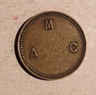 TOKEN JETON GETTONE DA CLASSIFICARE A. M. C. - Monétaires/De Nécessité