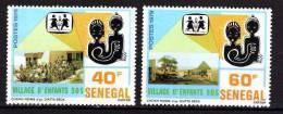 Sénégal N° 512 / 13   XX  Village D'enfants S.O.S. La Paire Sans Charnière, TB - Senegal (1960-...)