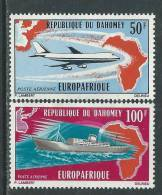 Dahomey P.A. N° 147 / 48 XX  Europafrique, La Paire Sans Charnière,  TB - Benin - Dahomey (1960-...)