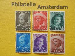Curaçao 1948, KINDERZEGELS: NVPH 200-05, ** - Curacao, Netherlands Antilles, Aruba