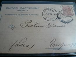Popoli Pescara Pubblicità Usata 1924 - Italia