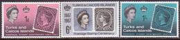TURKS AND CAICOS ISLANDS 1967 SG #288-90 Compl.set MH Stamp Centenary - Turks And Caicos