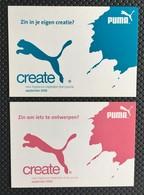 Puma 2 Diff Carte Postale - Perfume Cards