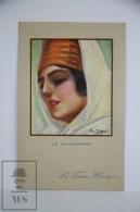 Original Postcard Portrait La Caucasienne - Illustrator Dupuis - Heroic Women - Les Femmes Heroïques N 46 - Ilustradores & Fotógrafos