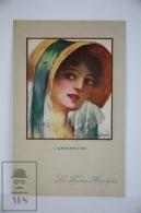 Original Postcard Portrait L´Ardennaise - Illustrator Dupuis - Heroic Women - Les Femmes Heroïques N 38 - Ilustradores & Fotógrafos