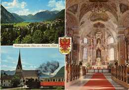Eben Am Achensee -  Schwaz District In The Austrian State Of Tyrol. - Church,train - Trains
