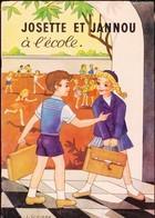 M.J. Maury - Josette Et Jannou à L' école - Éditions Hemma-Chaix - ( 1956 ) . - Other