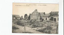 LE VILLAGE DE ERCHES 561 BATAILLE DE LA SOMME LA GUERRE 1914 1916 - France