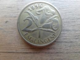 Swaziland  2  Emalangeni  1996  Km 46 - Swaziland