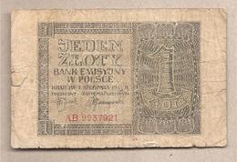 Polonia - Banconota Circolata Da 1 Zloty P-99a - 1941 - Polonia