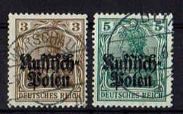 Polen 1915 // Michel 1,2 O (021.844) - Occupation 1914-18