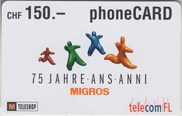 SWITZERLAND - PHONE CARD  ***   PRÉPAID CARD & TELECOM FL  *** - Switzerland