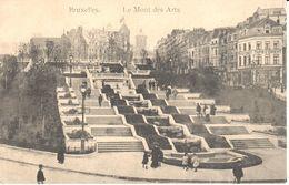 Bruxelles - CPA - Brussel - Le Mont Des Arts - Places, Squares
