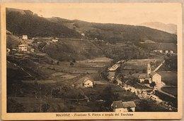 Masone (Genova) Frazione S. Pietro E Strada Del Turchino - Genova (Genua)