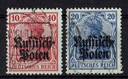 Polen 1915 // Michel 3,4 O (021.845) - Occupation 1914-18