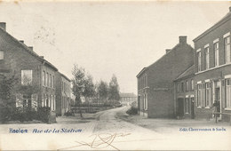 Haelen - Rue De La Station - 1904 - Halen