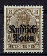 Polen 1915 // Michel 1 ** (021.846) - Occupation 1914-18
