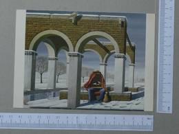 GALLERY CARD    - JOS DE MEY -  LE THERAPEUTE -   2 SCANS  - (Nº22083) - Other Illustrators