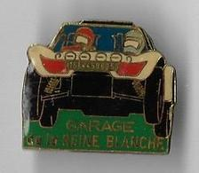Vends   Pin's France Garage De La Reine Blanche - Car Racing - F1