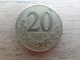 Albanie  20  Leke  1996  Km 78 - Albania