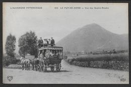 Le Puy De Dome - Vue Des Quatre Routes - France