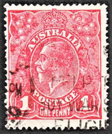 Australia - Scott #21 Used (2) - 1913-36 George V: Heads