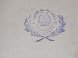 LES R'JETTONS DES COMBATTANTS DE 1830 - LIEGE De 1908 à 1911 Et 1923 à 1924. 2 Registres - Manuscripts