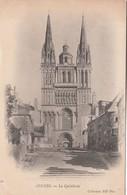 Cp , 49 , ANGERS , La Cathédrale - Angers