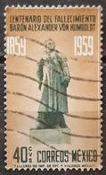 MÉXICO 1960 The 100th Anniversary Of The Death Of Alexander Von Humboldt. USADO - USED. - México