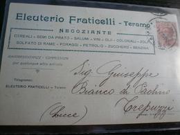 Teramo Pubblicità Commerciale Usata 1924 - Teramo