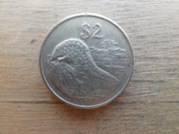 Zimbabwe  2  Dollar  1997  Km 12 - Zimbabwe