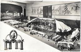 Maquette De CIRQUE Réalisée Par Maurice MASVIGNIER à LA SOUTERRAINE -GEANT DES CIRQUES -chapiteau,remorques,clown,polich - Circo