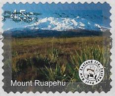 New Zealand - Fastway Post 2005 Mountain Scenes 45c Mount Ruapehu Good/fine Used [37/30621/UD] - New Zealand