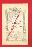 1 Partition Musicale Recueil De Chansons Normandes UNE FOIRE A BRICQUEBEC De A ROSSEL Patois Normand - Partitions Musicales Anciennes