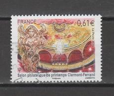 FRANCE / 2014 / Y&T N° 4851 : Salon Philatélique De Clerment-Ferrand - Choisi - Cachet Rond - France