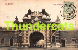 CPA  BERCHEM PORTE DE MALINES - Antwerpen
