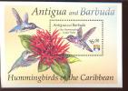 ANTIGUA & BARBUDA   1598 MINT NEVER HINGED SOUVENIR SHEET OF HUMMING BIRDS - Birds