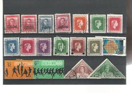 56006 ) Collection New Zealand Mexico Official Overprint King Queen Postmark - Collections (without Album)