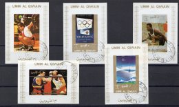 UMM AL QIWAIN - Jeux Olympique Melbourne 1956 Et Munich 1972 - 5 Blocs De Luxe - Umm Al-Qaiwain