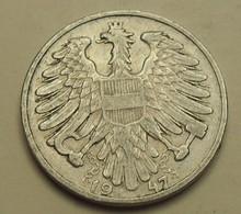 1947 - Autriche - Austria - 1 SCHILLING - KM 2871 - Autriche