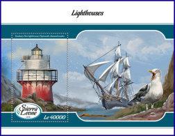 SIERRA LEONE 2018 MNH** Lighthouses Leuchttürme Phares S/S - OFFICIAL ISSUE - DH1808 - Leuchttürme
