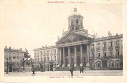 Bruxelles - CPA - Brussel - Place Royale - Places, Squares