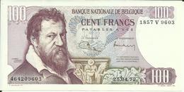BELGIQUE , 100 Francs , 25.04.1972 , N° World Paper Money : 134 B - [ 2] 1831-... : Royaume De Belgique
