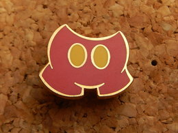 Pin's - SHORT ROUGE MICKEY - Non Signé - Disney