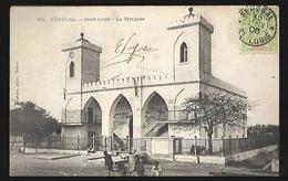 Sénégal  Saint Louis  La Mosquée   CPA 1906 - Senegal