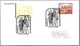 TRAJE TRADICIONAL De UCRANIA - UKRAINE TRADITIONAL CUSTOME. Wien 1990 - Textiles