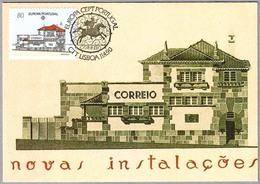 EDIFICIO DE CORREOS - SANTO TIRSO - POSTAL OFFICE. Europa CEPT. Lisboa 1990 - Correo Postal