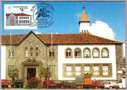 EDIFICIO DE CORREOS - VASCO DE GAMA - P.Delgada. Post Office. Europa CEPT. Lisboa 1990 - Correo Postal